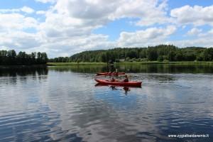 Žygiai baidarėmis Nikajos upe