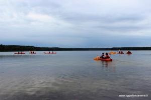 Baidarių žygis Nikajos upe